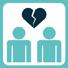 Als u gaat scheiden, uw partnerschap  beeindigt of niet meer samenwoont