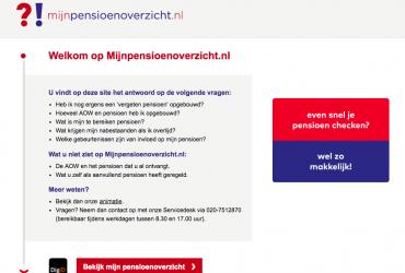 Onjuist bedrag vermeld op mijnpensioenoverzicht.nl